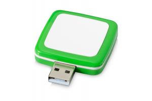 USB stick rotating square, 4GB